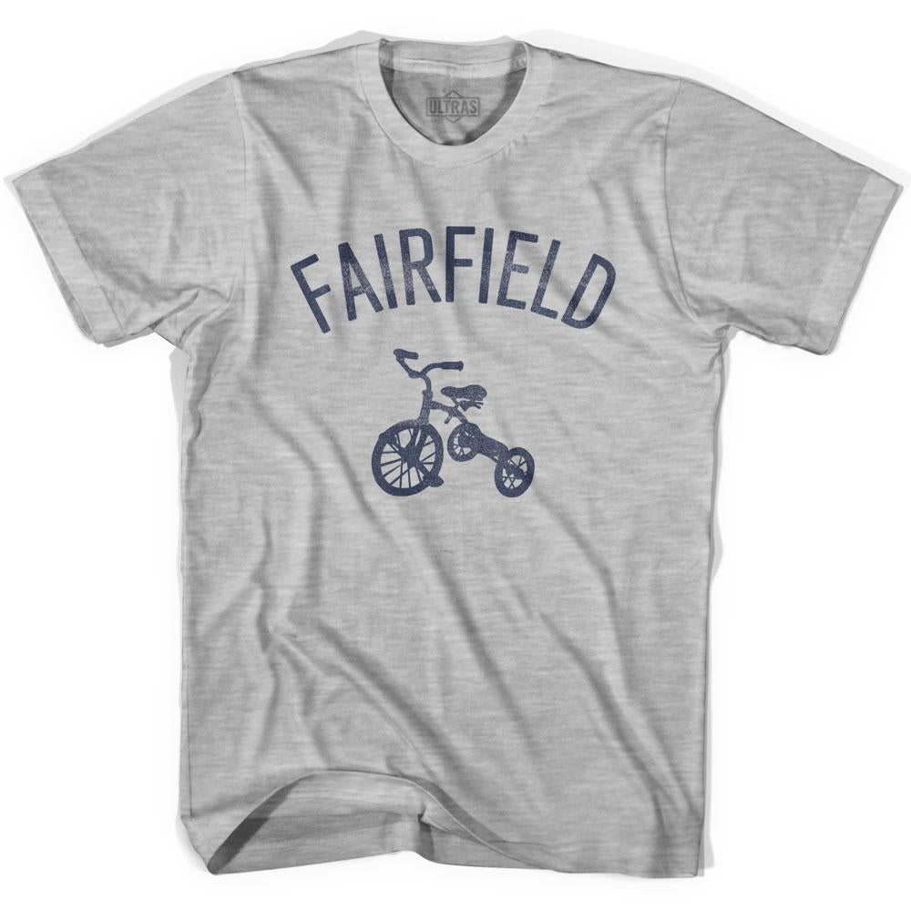 Fairfield City Tricycle Adult Cotton T-shirt by Ultras
