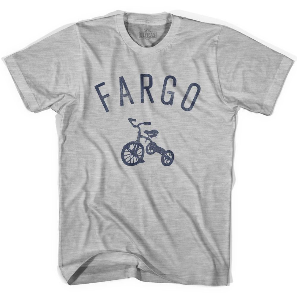 Fargo City Tricycle Adult Cotton T-shirt by Ultras
