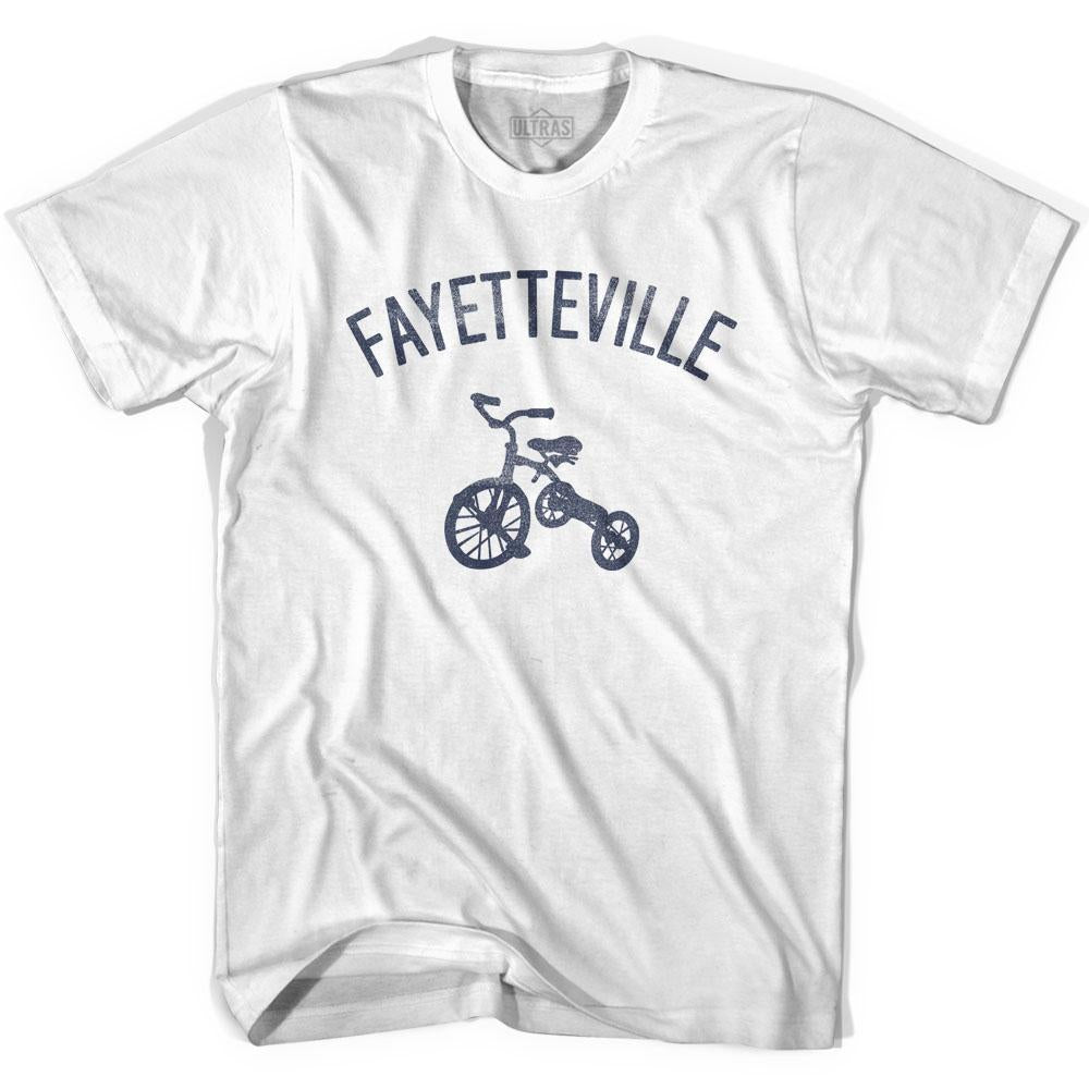 Fayetteville City Tricycle Adult Cotton T-shirt by Ultras