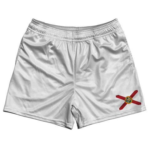Florida State Flag Rugby Shorts Made In USA