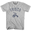 Frisco City Tricycle Adult Cotton T-shirt by Ultras