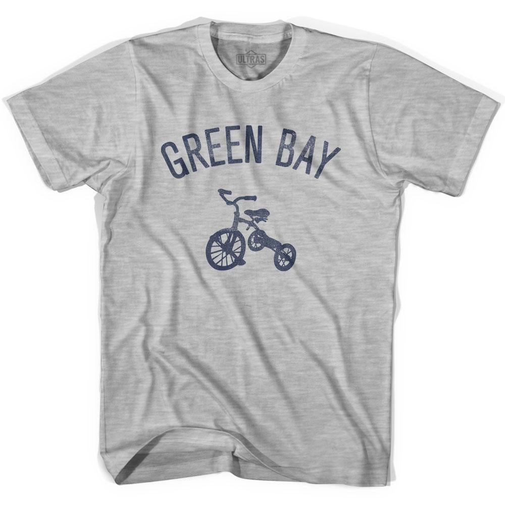Green Bay City Tricycle Adult Cotton T-shirt by Ultras