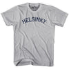 Helsinki City Vintage T-shirt in Athletic Grey by Mile End Sportswear