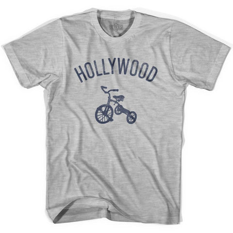 Hollywood City Tricycle Womens Cotton T-shirt