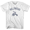 Hollywood City Tricycle Adult Cotton T-shirt by Ultras