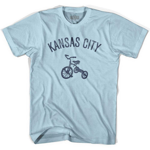 Kansas City Tricycle Adult Cotton T-shirt