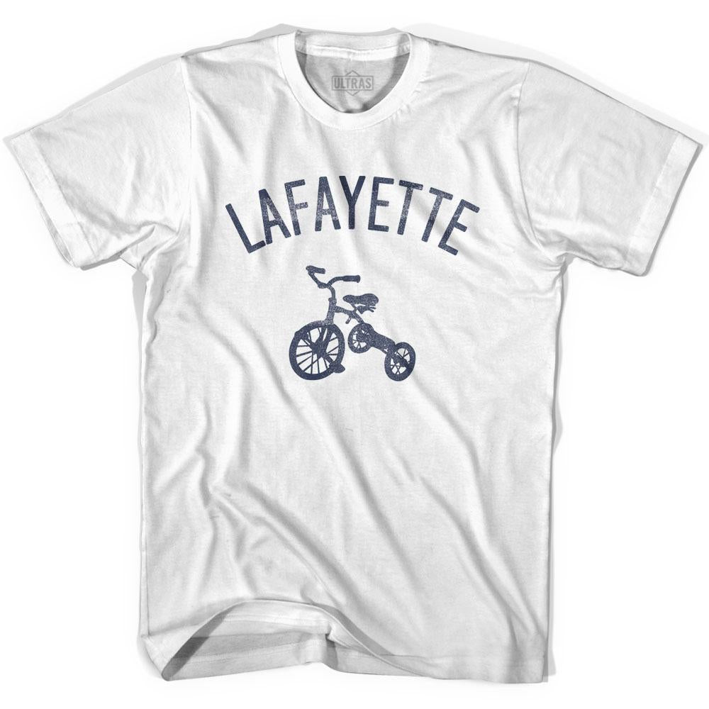 Lafayette City Tricycle Adult Cotton T-shirt by Ultras