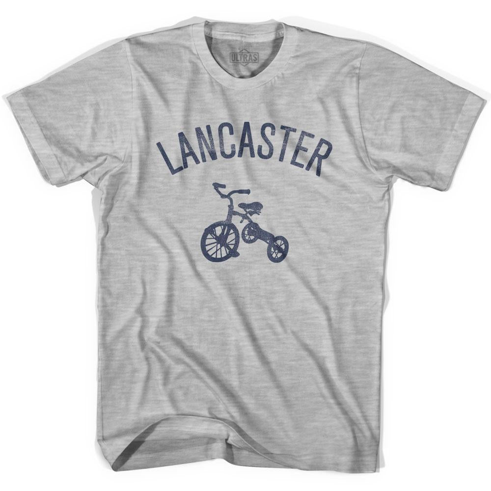 Lancaster City Tricycle Adult Cotton T-shirt by Ultras