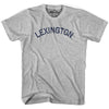 Lexington City Vintage T-shirt in Grey Heather by Mile End Sportswear