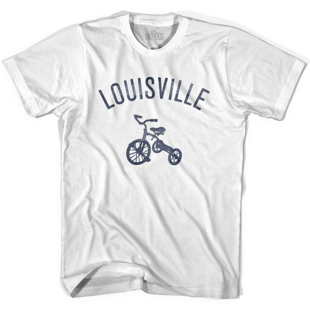 Louisville City Tricycle Adult Cotton T-shirt by Ultras