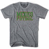 Mexico Futbol Nation Soccer T-shirt in Athletic Grey by Ultras