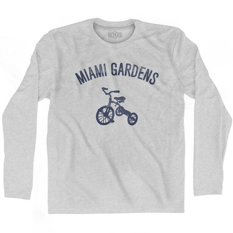 Miami Gardens City Tricycle Adult Cotton Long Sleeve T-shirt