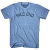 Mile End City Vintage T-shirt in Athletic Blue by Mile End Sportswear
