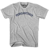 Morgantown City T-shirt in Grey Heather by Mile End Sportswear