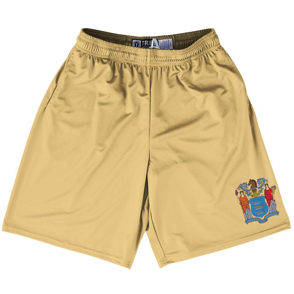 "New Jersey State Flag 9"" Inseam Lacrosse Shorts by Tribe Lacrosse"