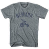 Newark City Tricycle Adult Tri-Blend T-shirt by Ultras