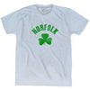 Norfolk City Shamrock Tri-Blend T-shirt by Ultras