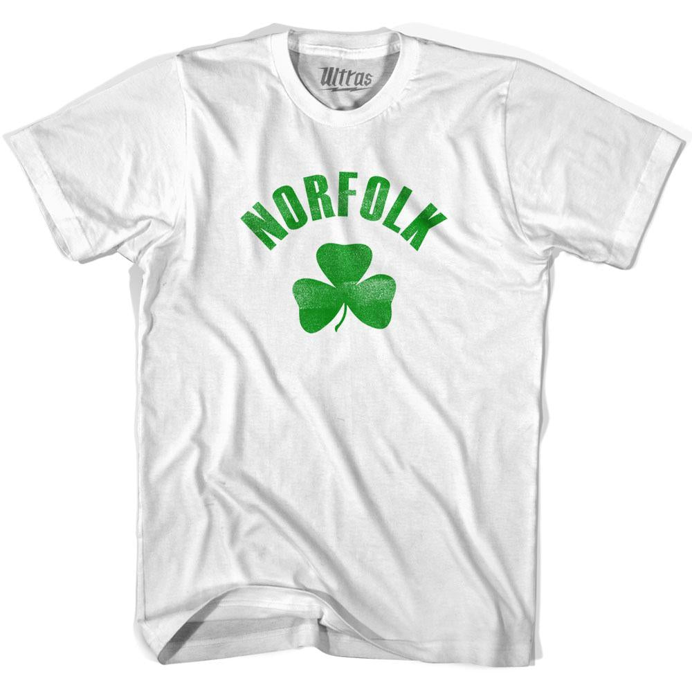 Norfolk City Shamrock Cotton T-shirt by Ultras
