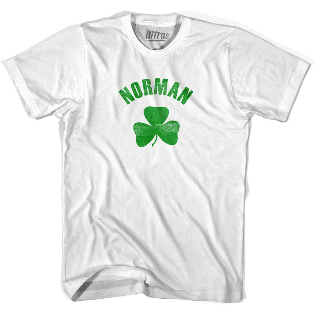 Norman City Shamrock Womens Cotton T-shirt by Ultras