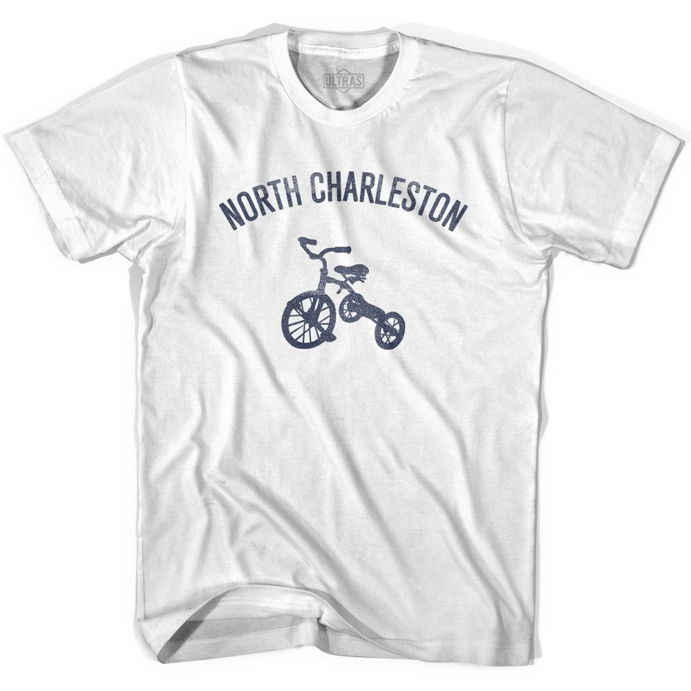 North Charleston City Tricycle Adult Cotton T-shirt by Ultras