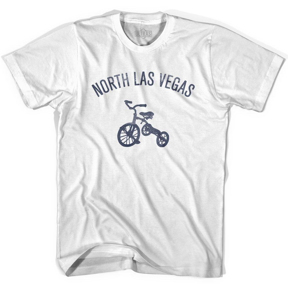 North Las Vegas City Tricycle Adult Cotton T-shirt by Ultras