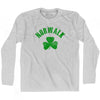 Norwalk City Shamrock Cotton Long Sleeve T-shirt by Ultras
