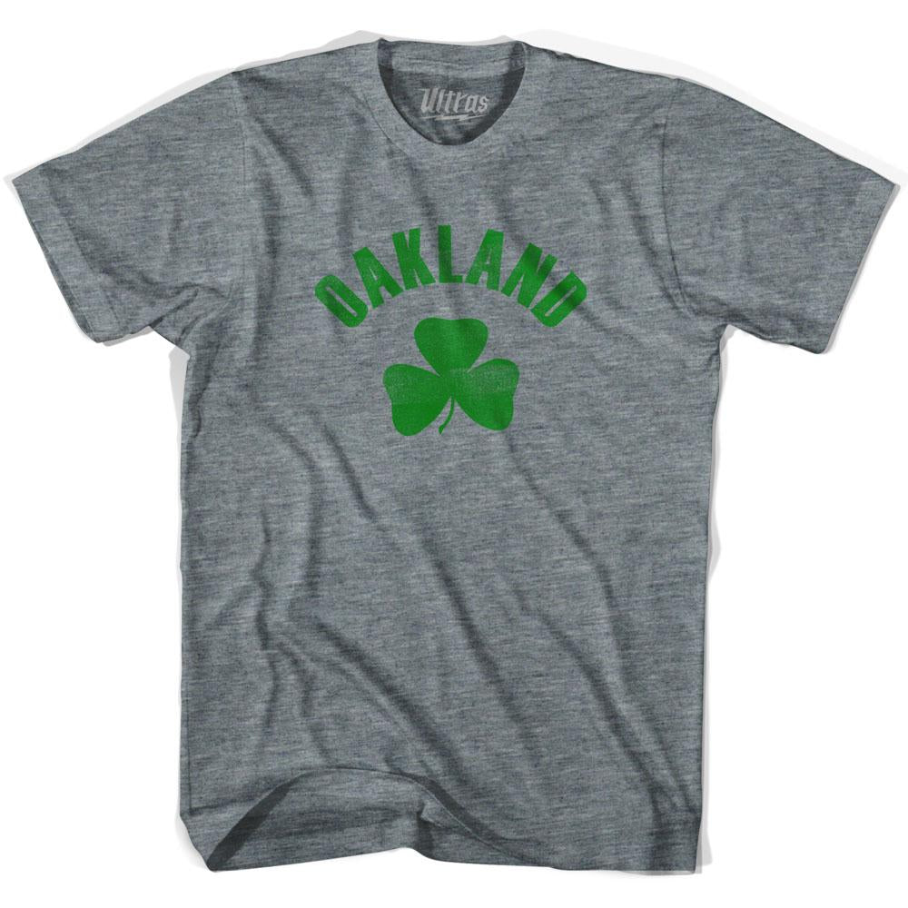 Oakland City Shamrock Youth Tri-Blend T-shirt by Ultras