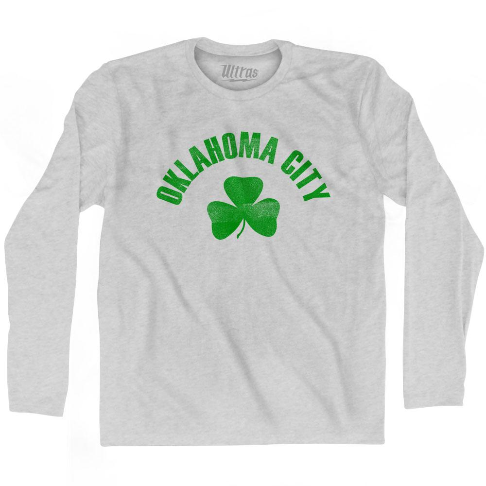 Oklahoma City Shamrock Cotton Long Sleeve T-shirt by Ultras