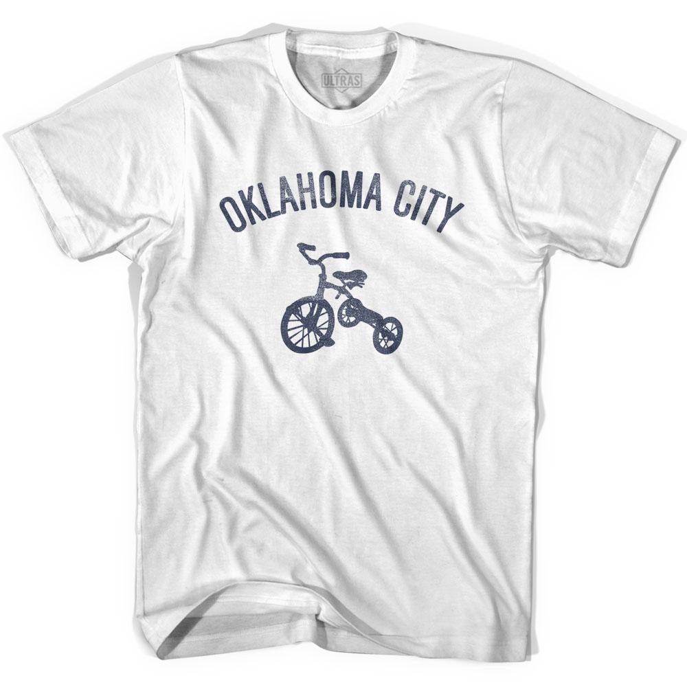 Oklahoma City Tricycle Adult Cotton T-shirt by Ultras