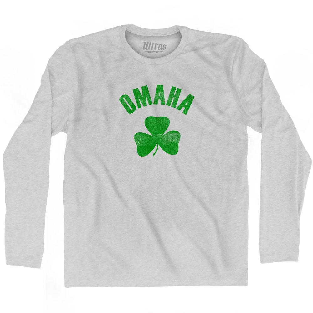 Omaha City Shamrock Cotton Long Sleeve T-shirt by Ultras