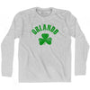 Orlando City Shamrock Cotton Long Sleeve T-shirt by Ultras