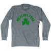 Overland Park City Shamrock Tri-Blend Long Sleeve T-shirt by Ultras