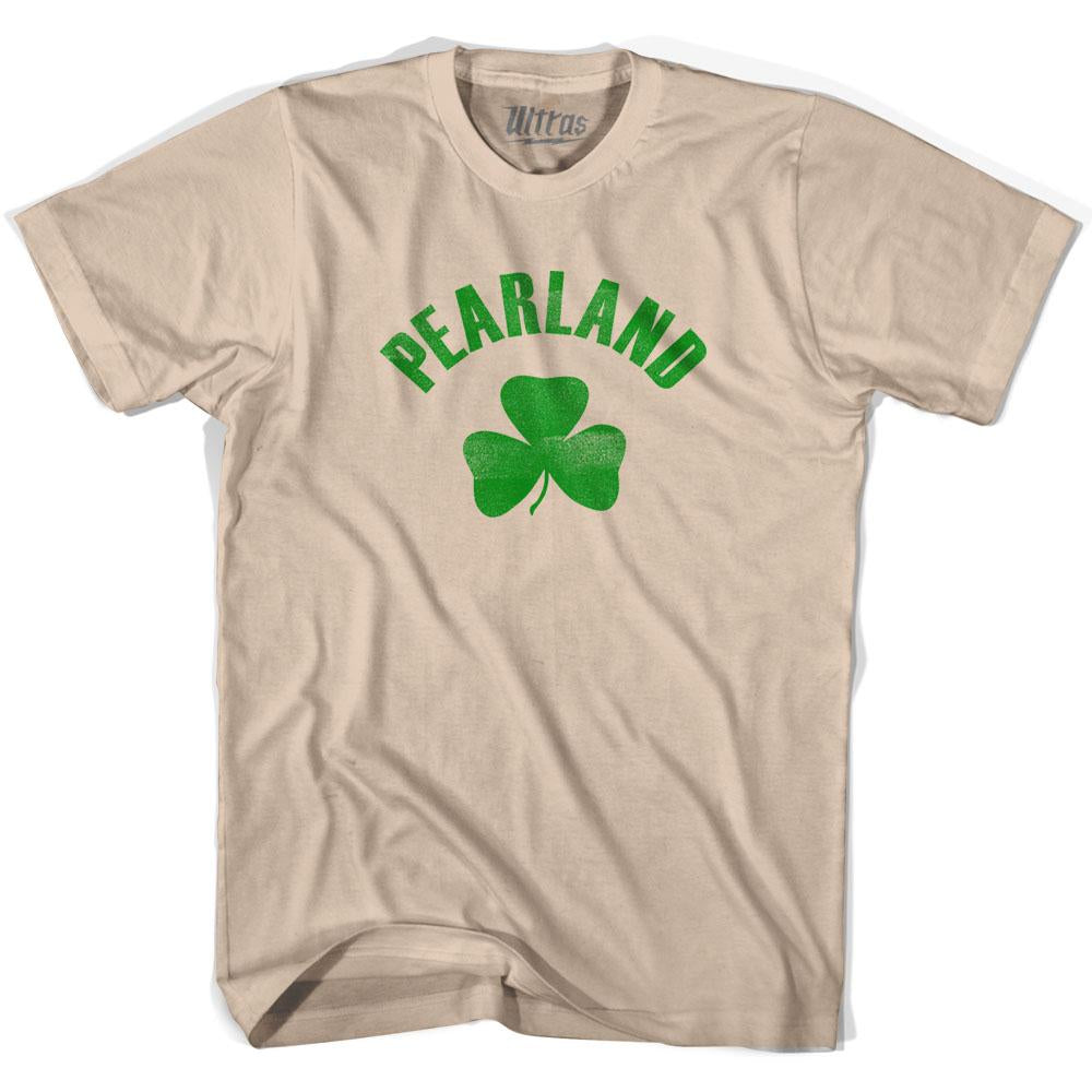 Pearland City Shamrock Cotton T-shirt by Ultras