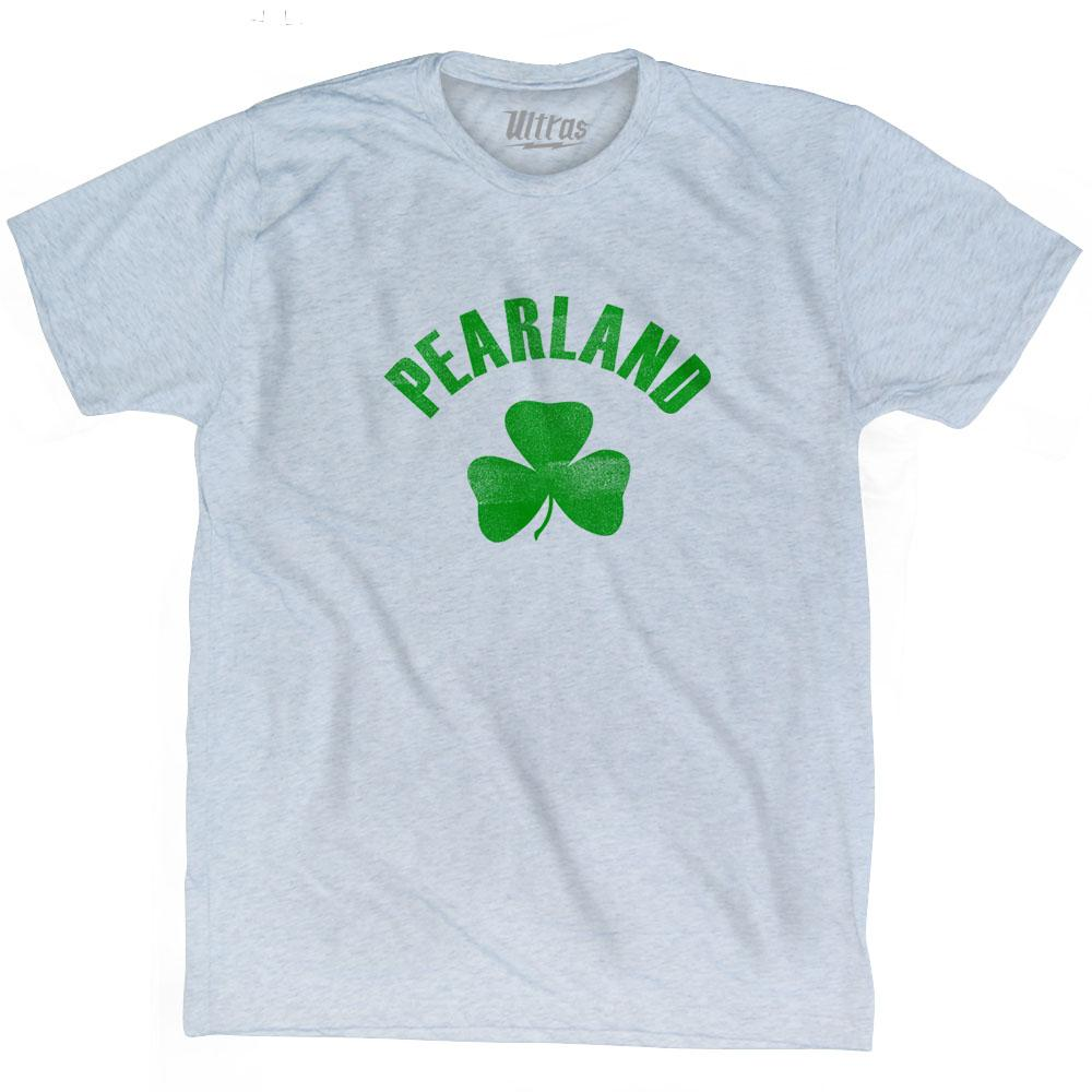 Pearland City Shamrock Tri-Blend T-shirt by Ultras