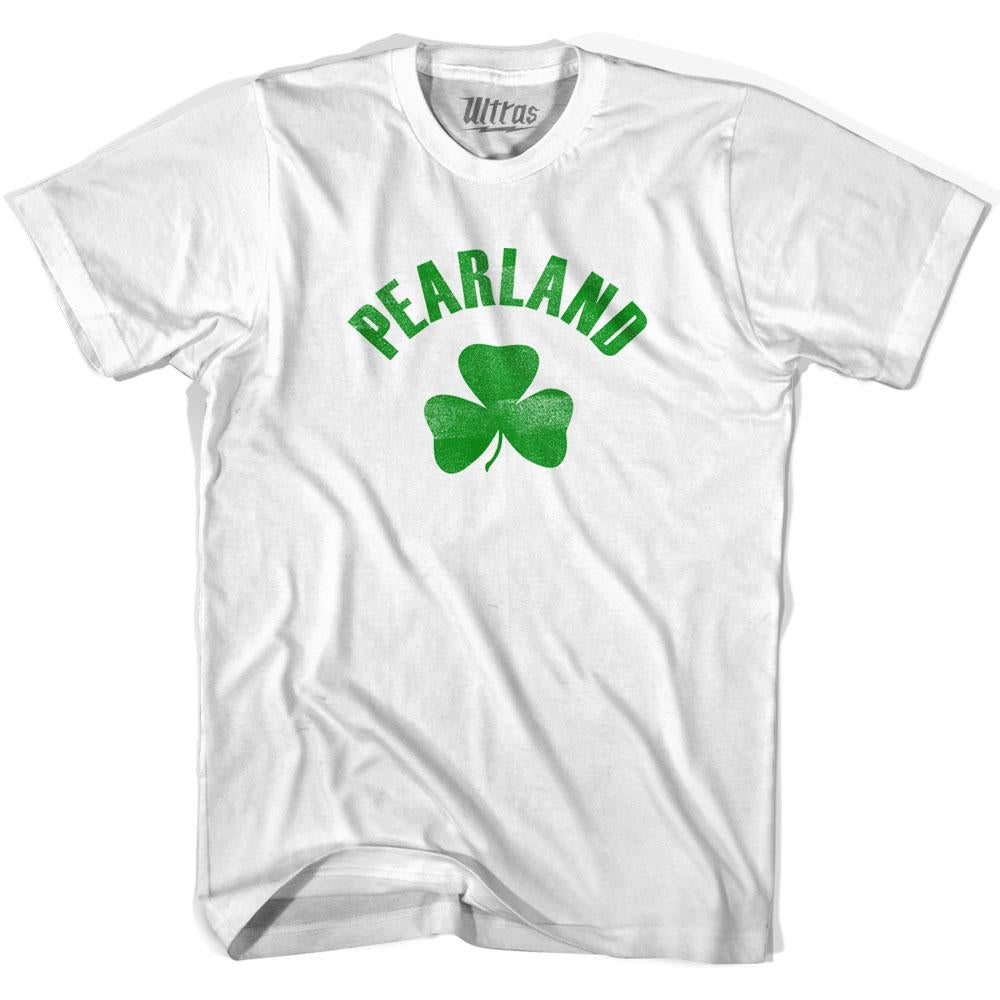Pearland City Shamrock Youth Cotton T-shirt by Ultras