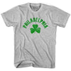 Philadelphia City Shamrock Youth Cotton T-shirt by Ultras