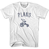 Plano City Tricycle Adult Cotton T-shirt by Ultras