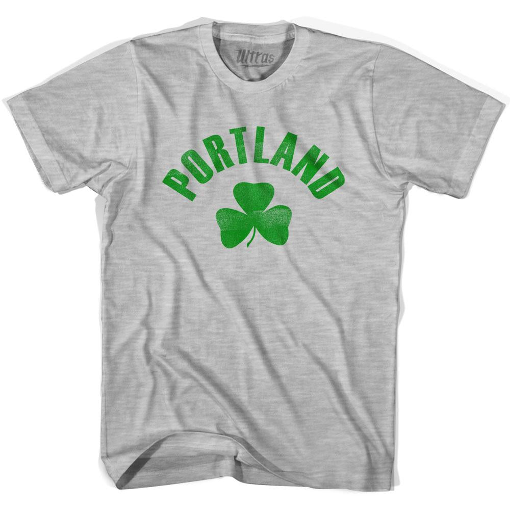 Portland City Shamrock Cotton T-shirt by Ultras