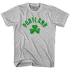 Portland City Shamrock Youth Cotton T-shirt by Ultras