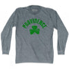 Providence City Shamrock Tri-Blend Long Sleeve T-shirt by Ultras