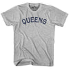 Queens City Vintage T-shirt in Grey Heather by Mile End Sportswear