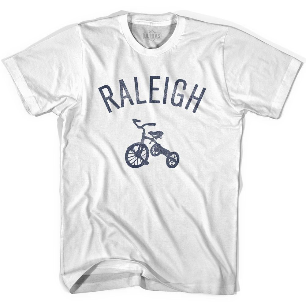 Raleigh City Tricycle Adult Cotton T-shirt by Ultras