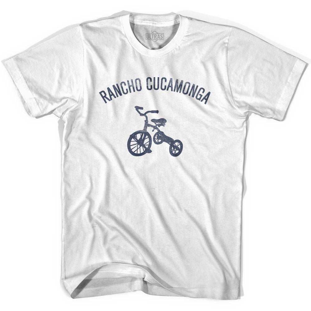 Rancho Cucamonga City Tricycle Adult Cotton T-shirt by Ultras