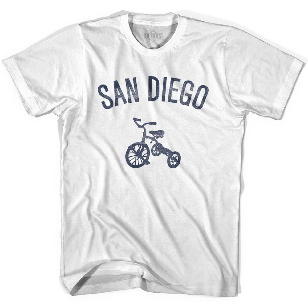 San Diego City Tricycle Adult Cotton T-shirt by Ultras