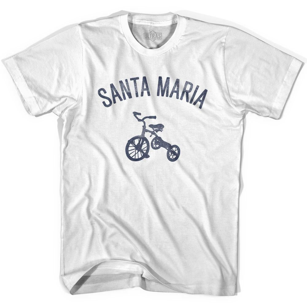 Santa Maria City Tricycle Adult Cotton T-shirt by Ultras