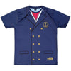 Ship Captain Shooter Shirt in Navy by Tribe Lacrosse
