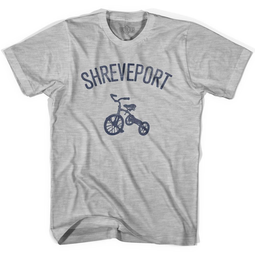 Shreveport City Tricycle Adult Cotton T-shirt by Ultras