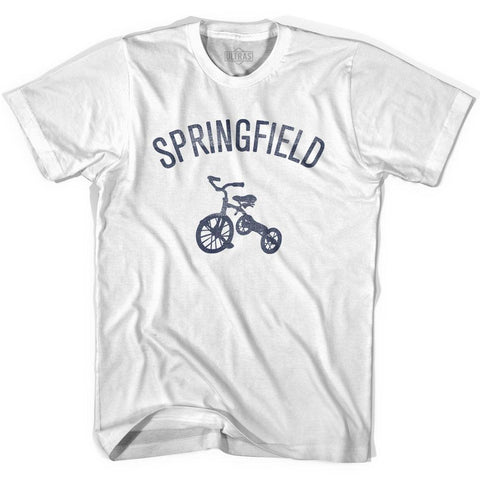 Springfield City Tricycle Womens Cotton T-shirt
