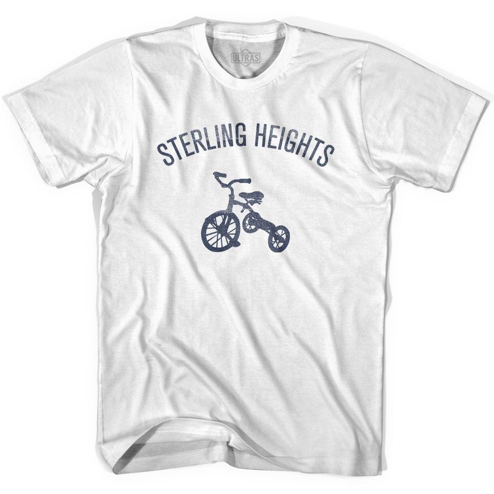 Sterling Heights City Tricycle Adult Cotton T-shirt by Ultras