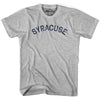 Syracuse City Vintage T-shirt in Grey Heather by Mile End Sportswear
